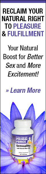 Sensuality with Sacred Blue Lily - The little blue pill for women
